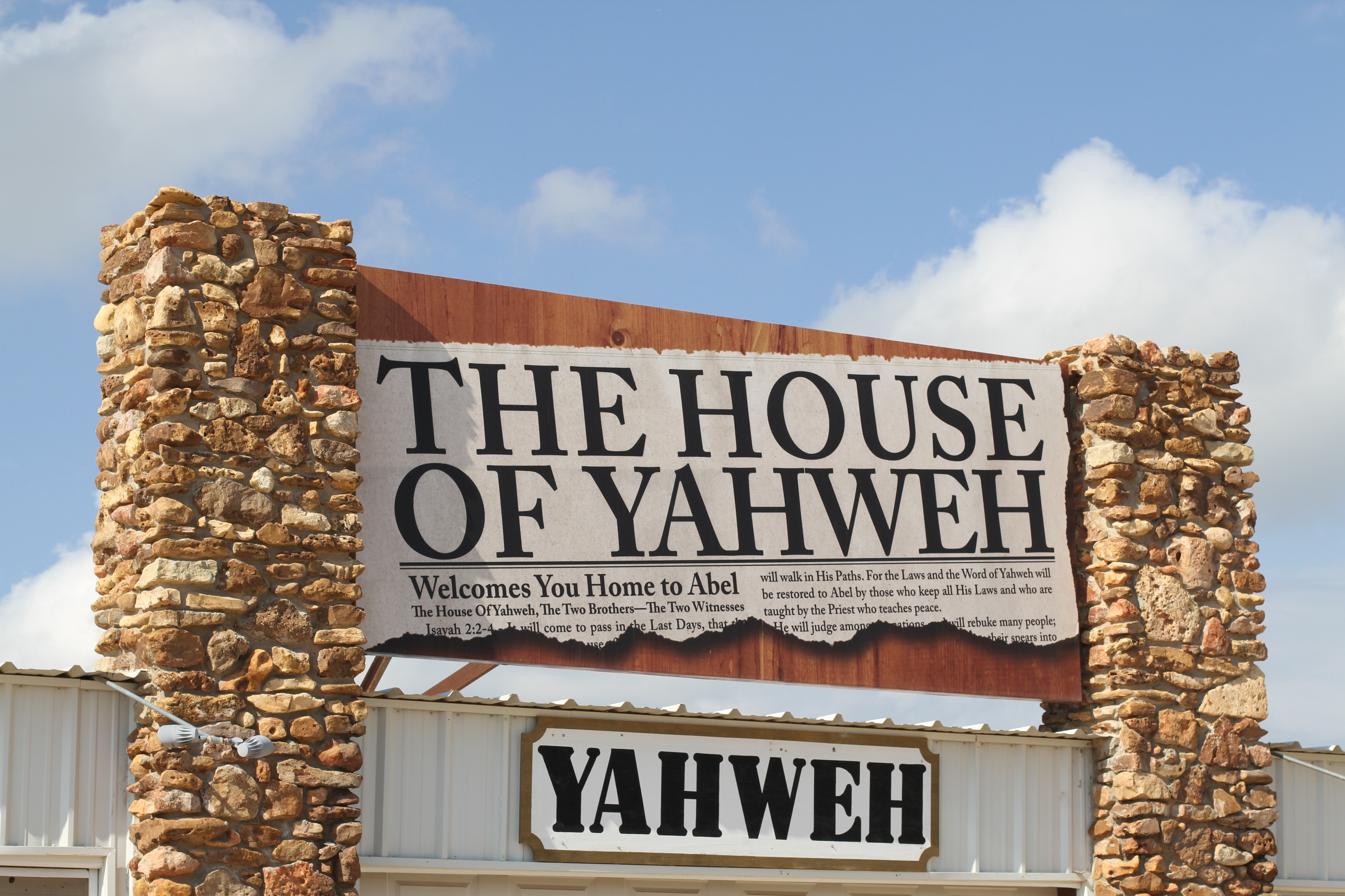 About | The House of Yahweh